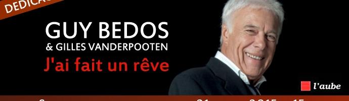 Rencontre Guy Bedos samedi 21 mars 15h au Salon du livre de Paris