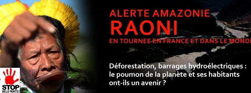 Raoni en tournée en France : Même en période de Coupe du monde, la déforestation continue