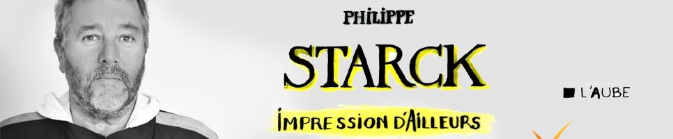 Rencontrez Starck  – dimanche 23 mars 11H, salon du livre de Paris