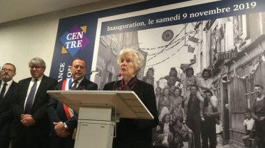 Christiane Hessel inaugure le Centre de la Résistance de Blois