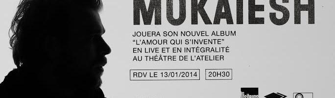 Cyril Mokaiesh : concert exceptionnel le 13/01/2014 à Paris