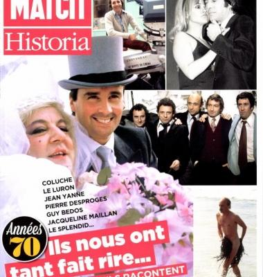 Hors-série Paris Match-Historia «Ils nous ont tant fait rire»